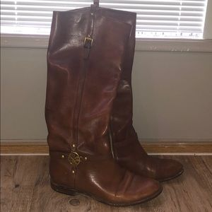 Coach Riding Boots Brown - 5.5 B (fits 6/7 feet)
